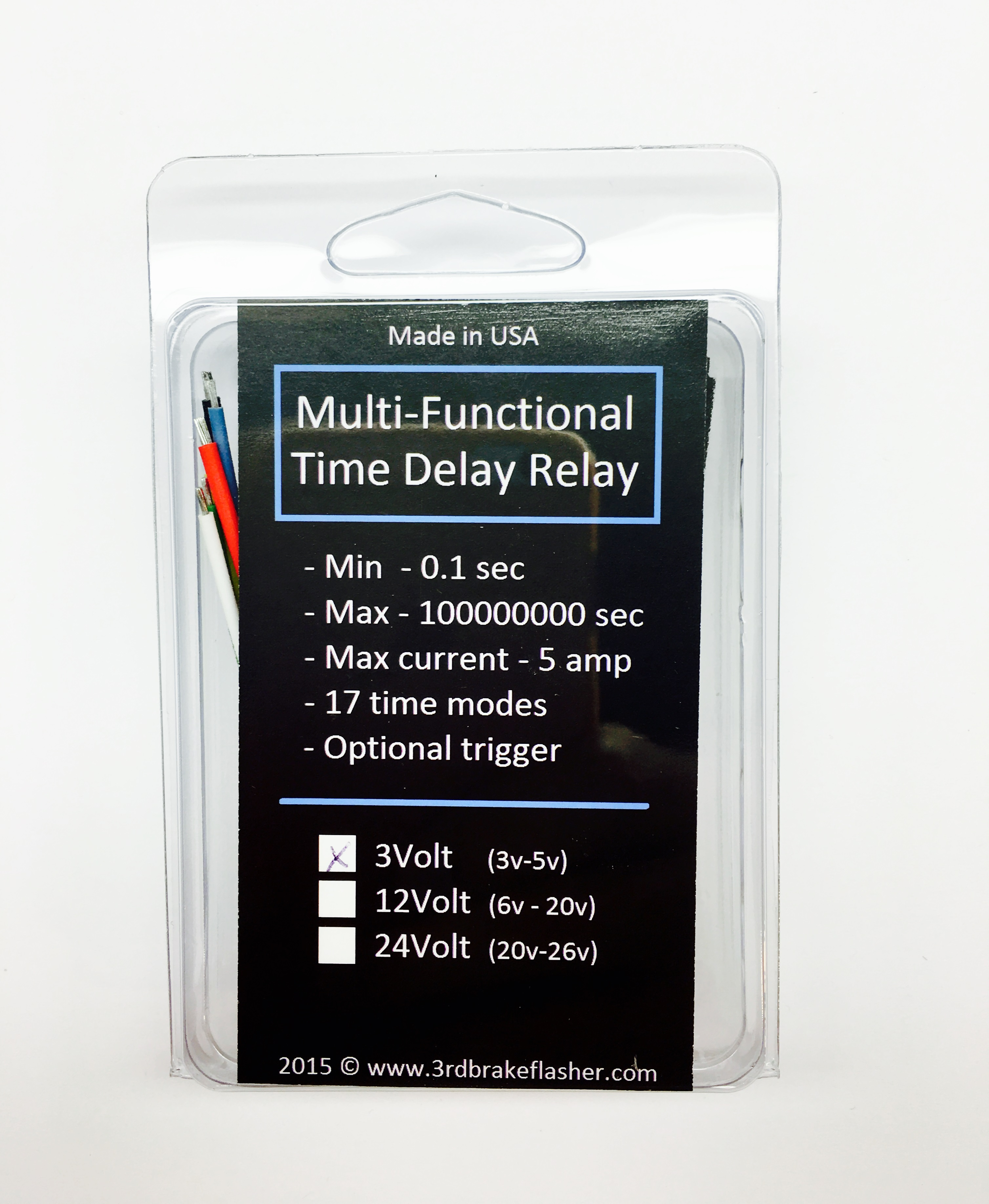 Multi Functional 3v Time Delay Relay Timer Tmr1 3 1695 3rd 12 Volt 15 Second Circuit