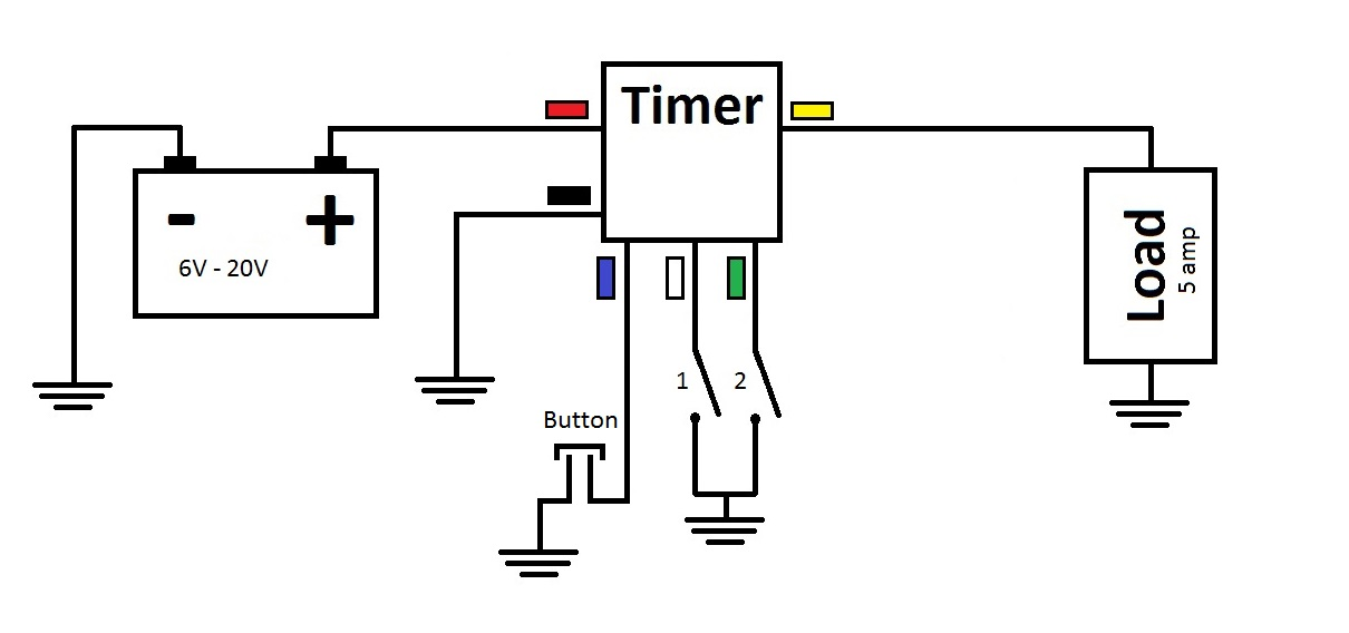 Multi-Functional 3V Time Delay Relay (Timer)