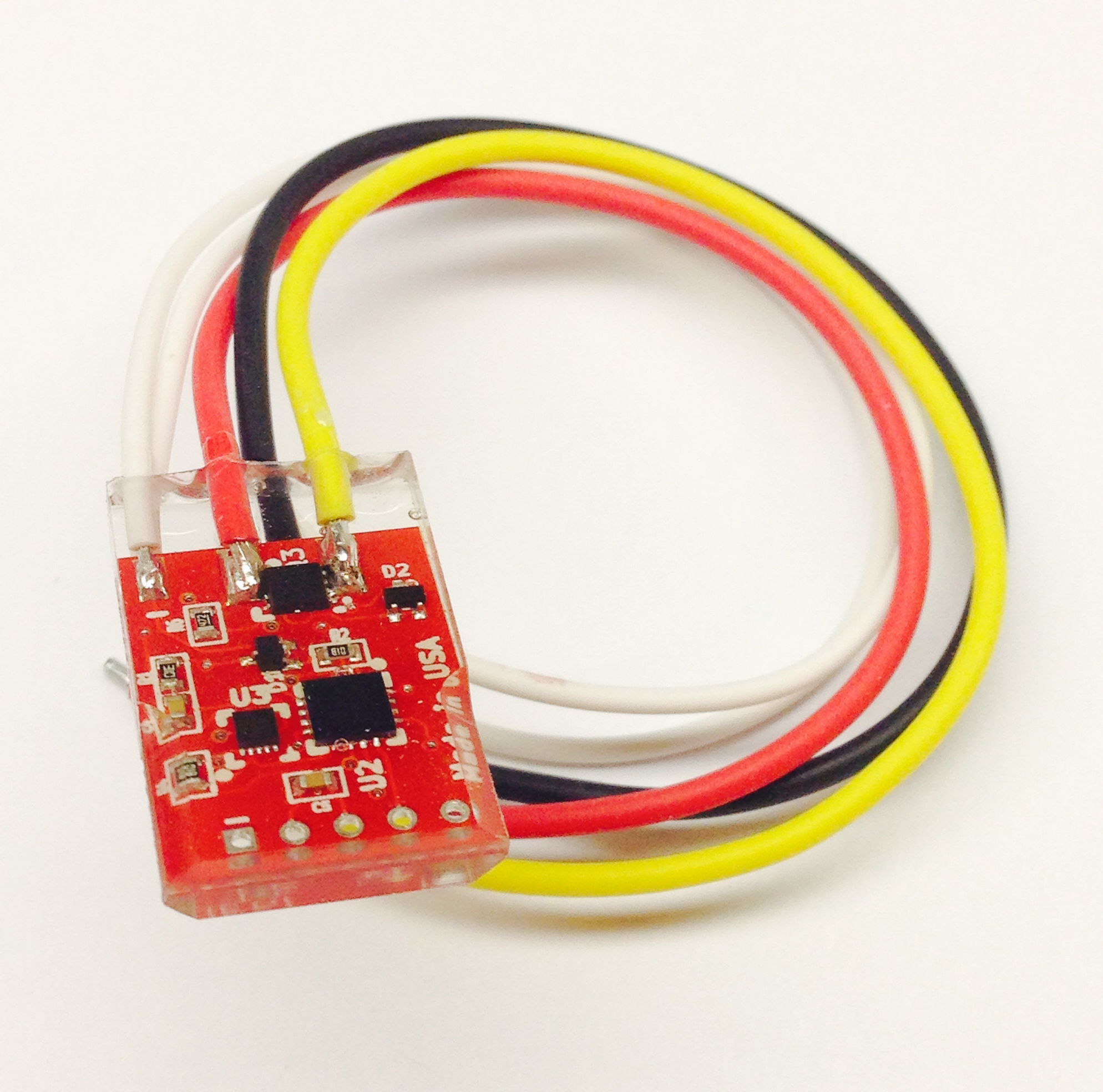 Vehicle Brake Light Flasher Module with brake force monitor
