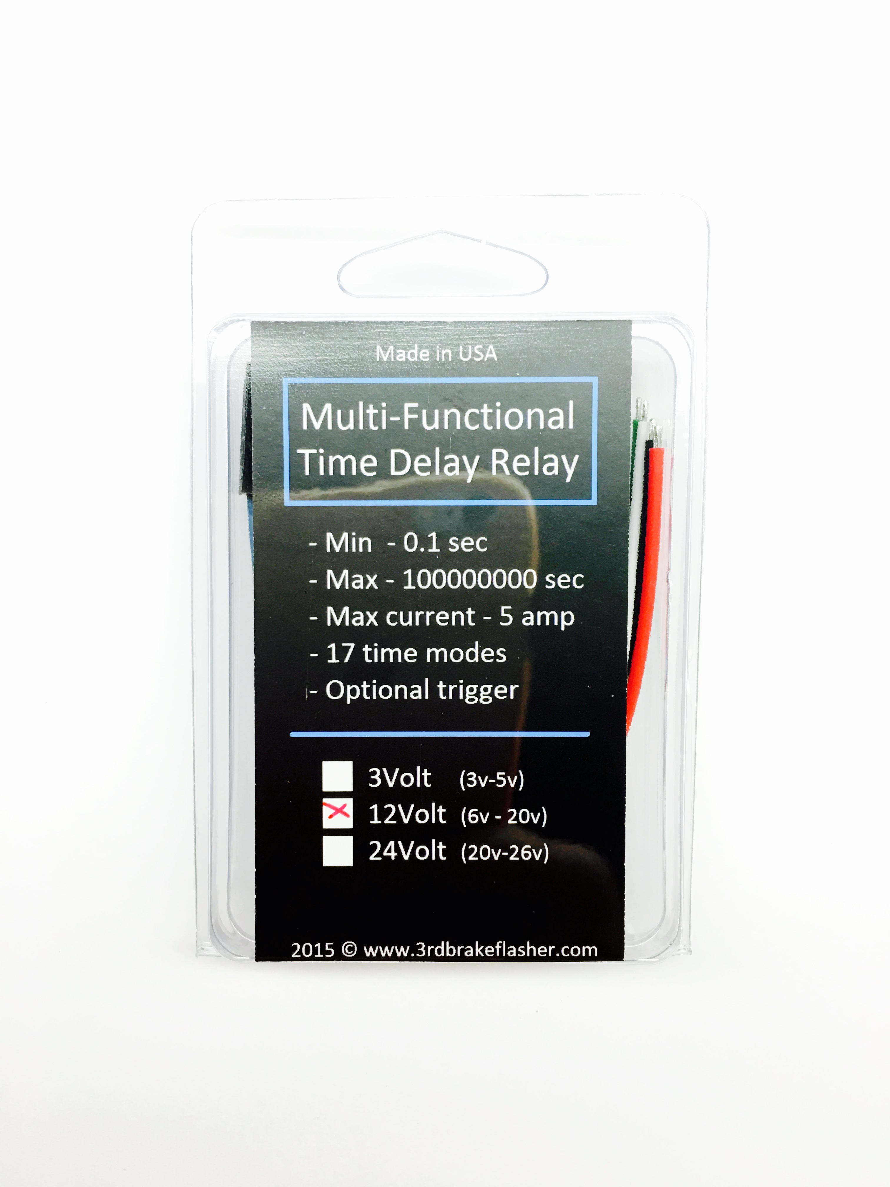 Multifunctional Timer Off Delay Timer Relay At 3rd Brake