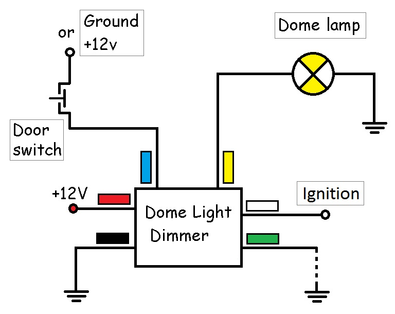 dome light dimmer  ddimer